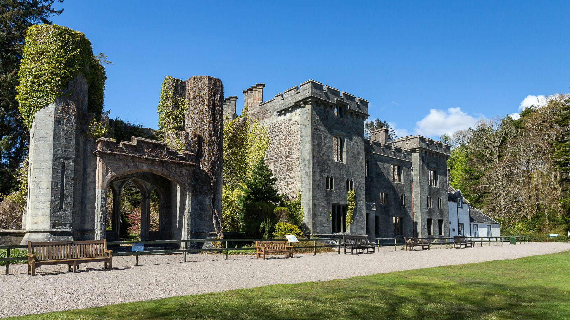 Armadale Castle auf der Isle of Skye