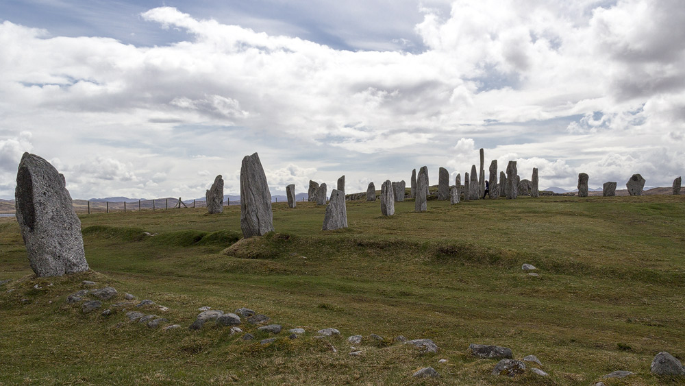 Callanish Steinreihe