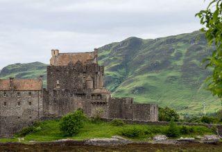 Eilean Donan Seite - Foto Martin Goldmann