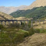 Glenfinnan Viaduct mit Westhighland-Train