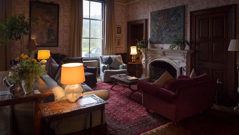 Glengorm Castle Eingangshalle