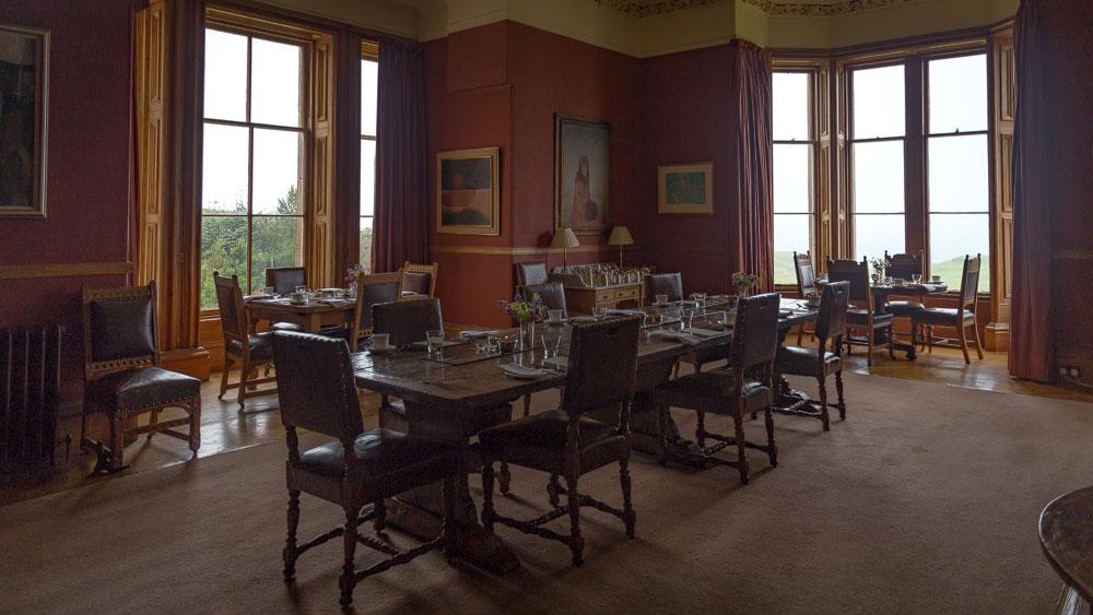 Glengorm Castle Speisesaal