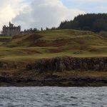 Glengorm Castle von See