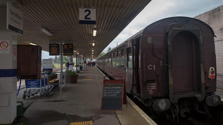 Jacobite Steam Train in Ft William