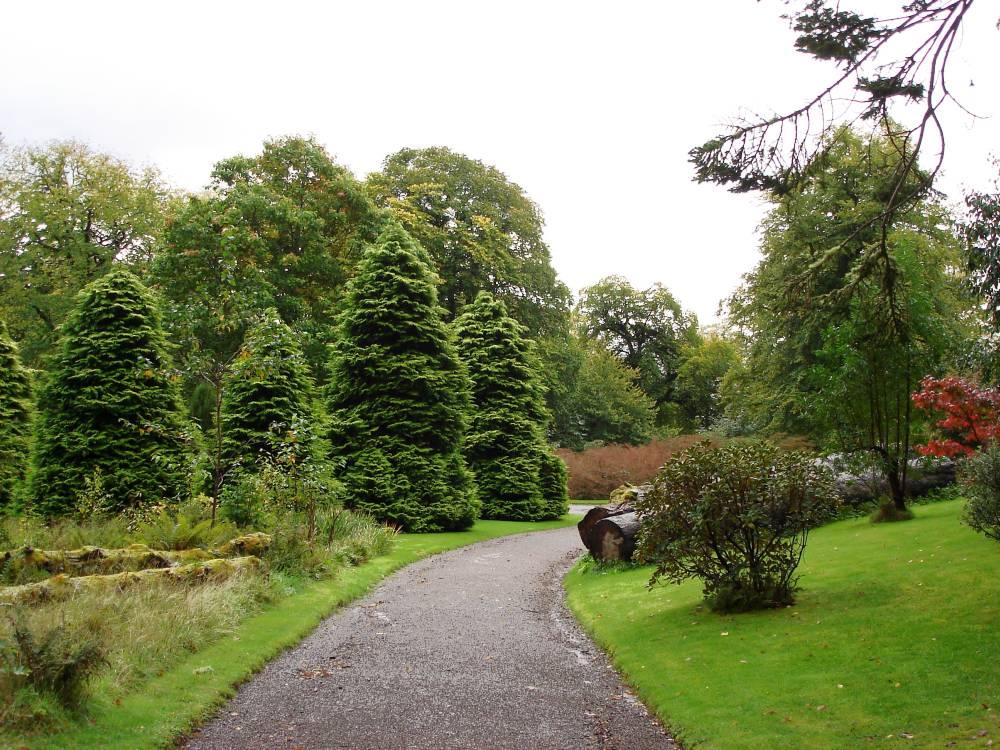Romantischer Garten Auf Skye