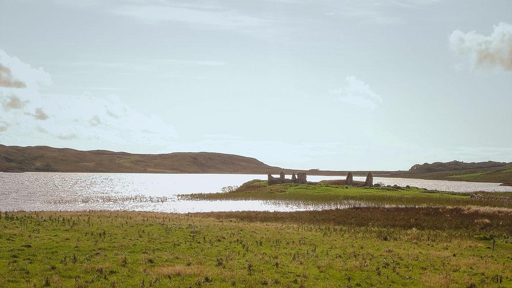 Insel im Loch Finlaggan