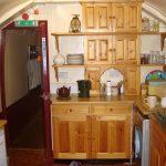 Küche des Glenfinnan Sleeping Car