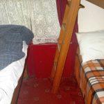 Boden und Leiter im Glenfinnan Sleeping car