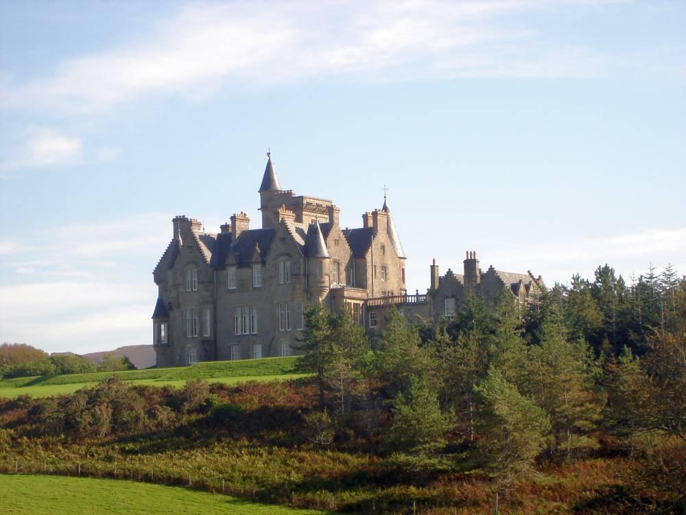 glengorm castle hinten