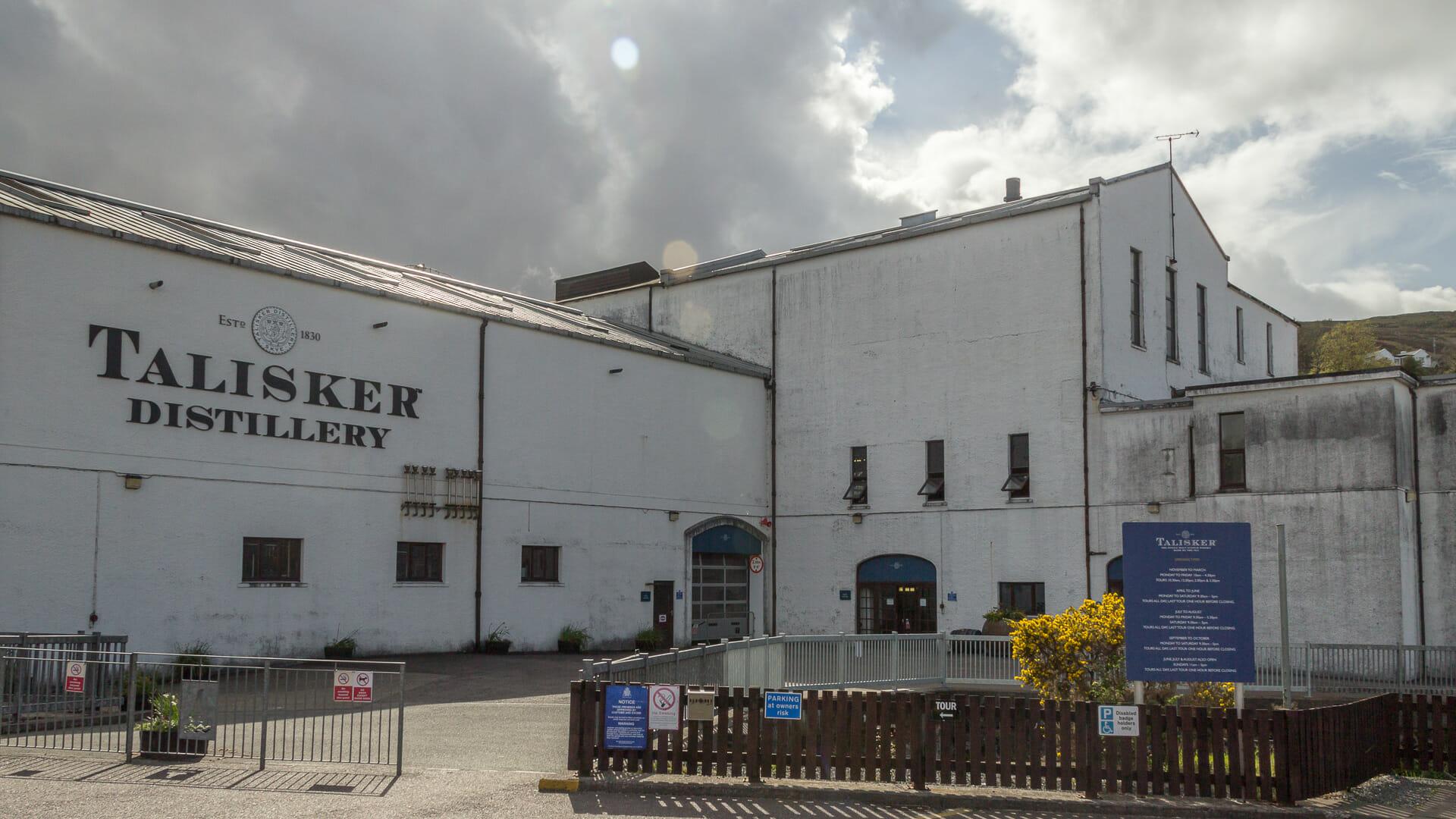 Hof der Talisker Distillery