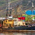 Ullapool Hafen Fischerboot