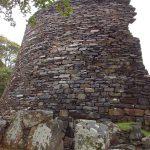 Dun Telve Broch Mauer