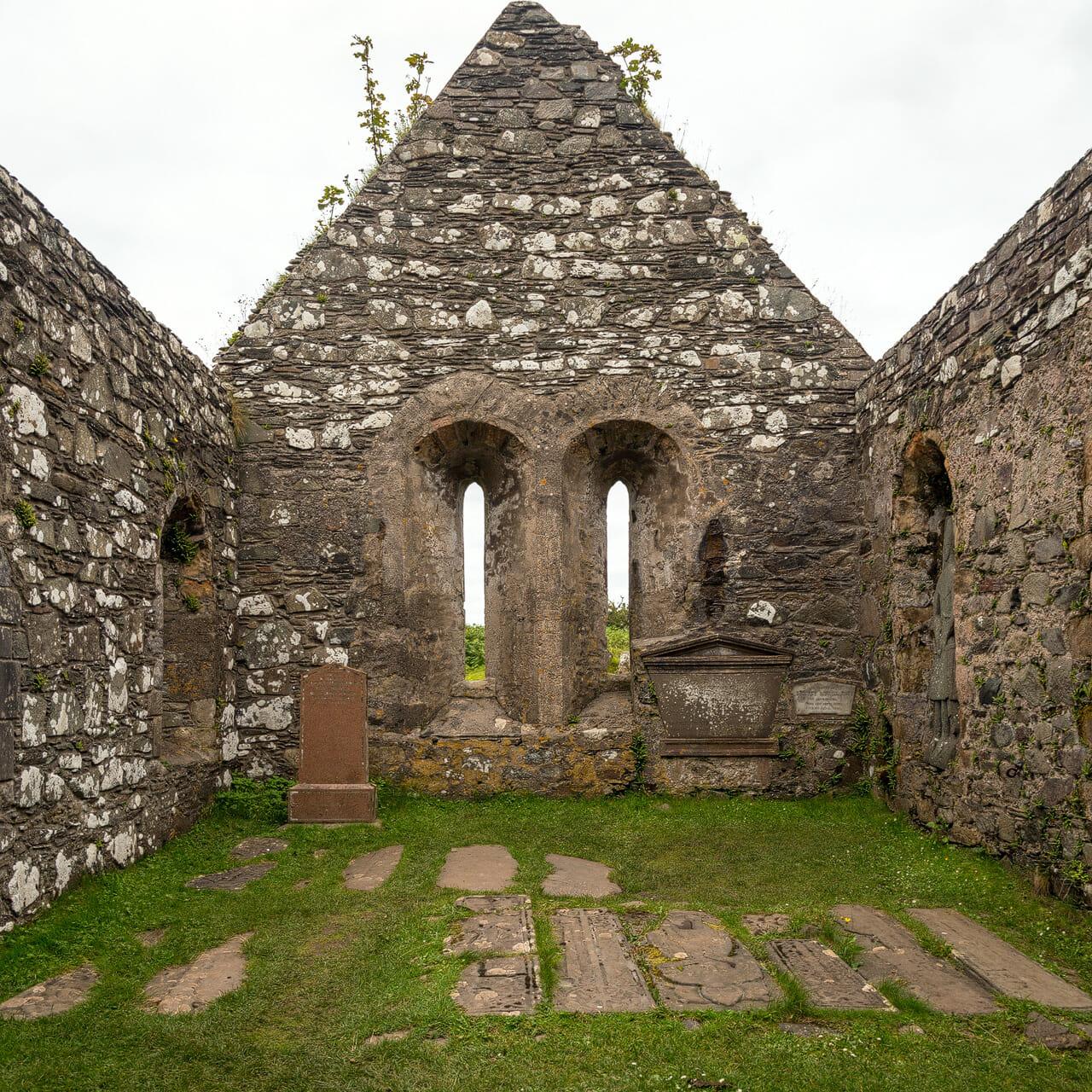 Kildalton Church innen