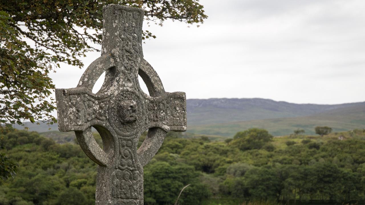 Kildalton Cross Ornamente Ostseite