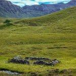Hausruine in den Highlands