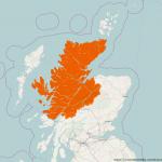 Highland Verwaltungsgebiet