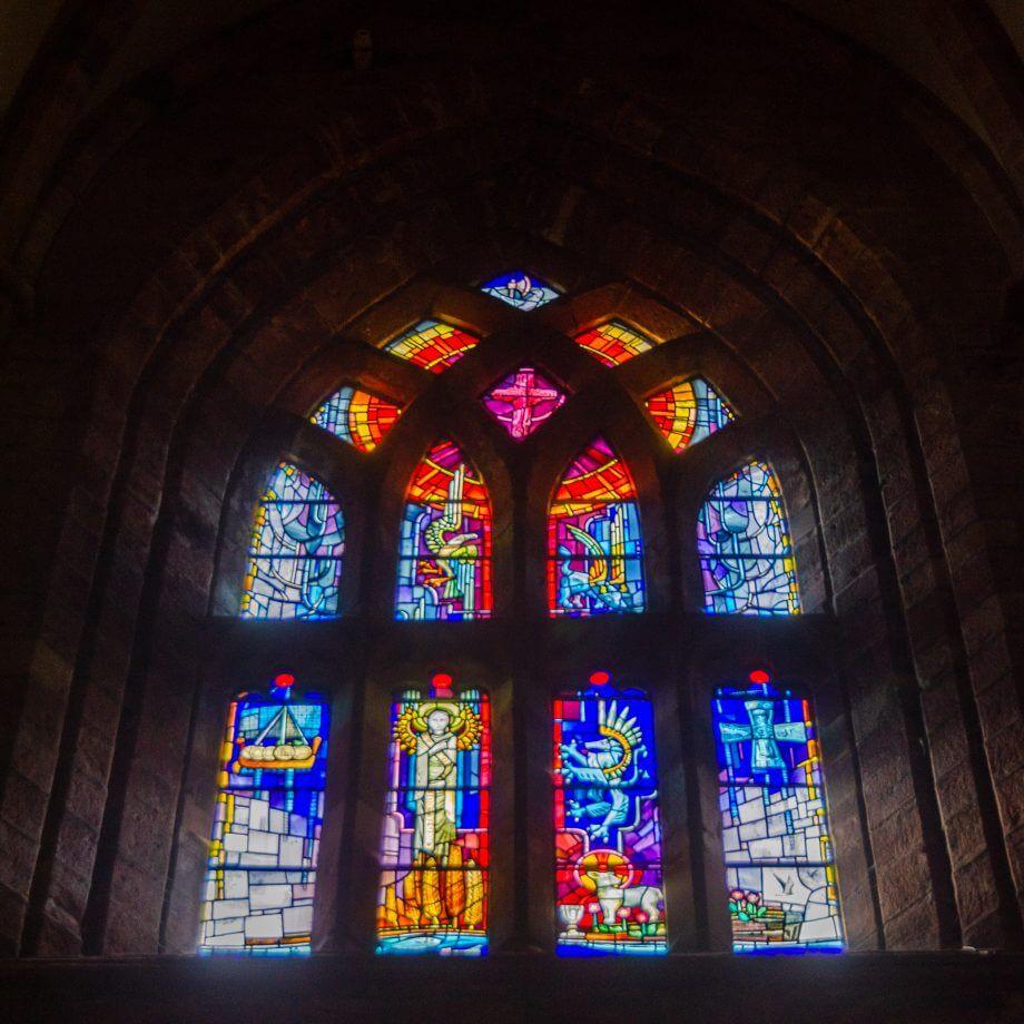 St Magnus Kathedrale Buntglasfenster