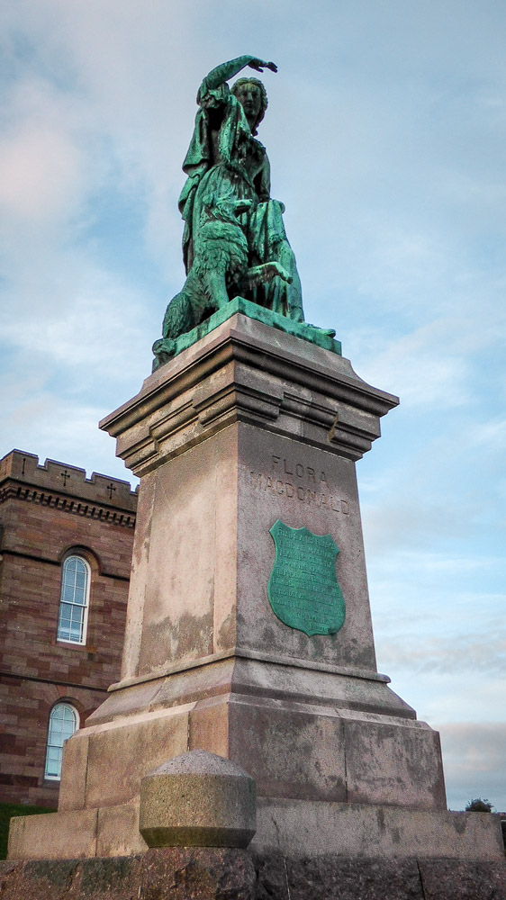 Flora MacDonald Statue in Inverness