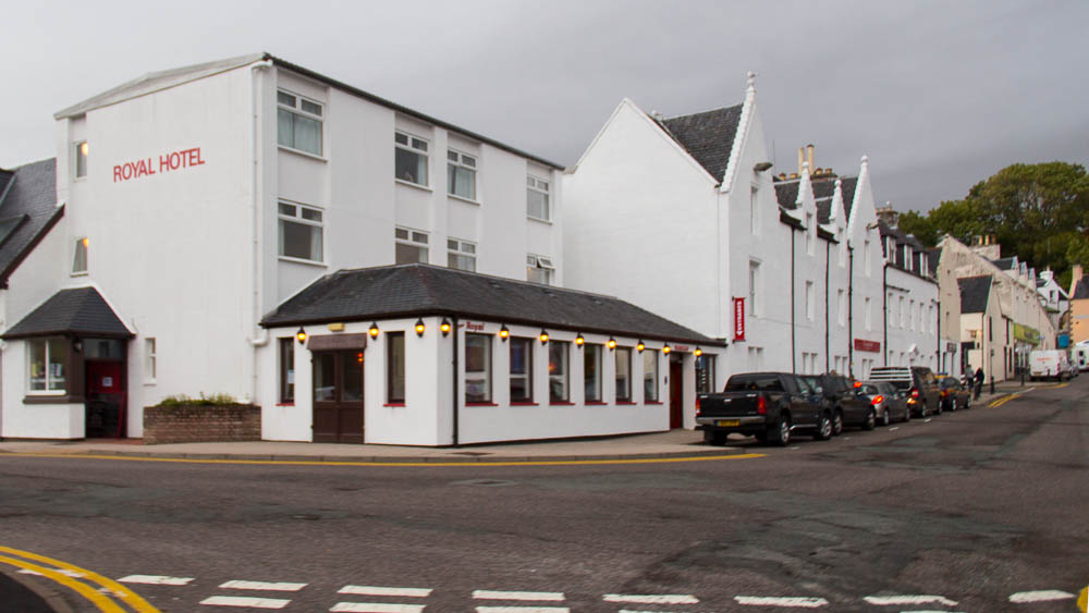 Das Royal Hotel in Portree