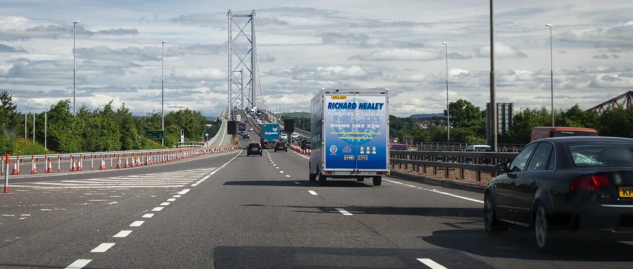 Forth Road Bridge - (Foto: Franziska Goldmann)