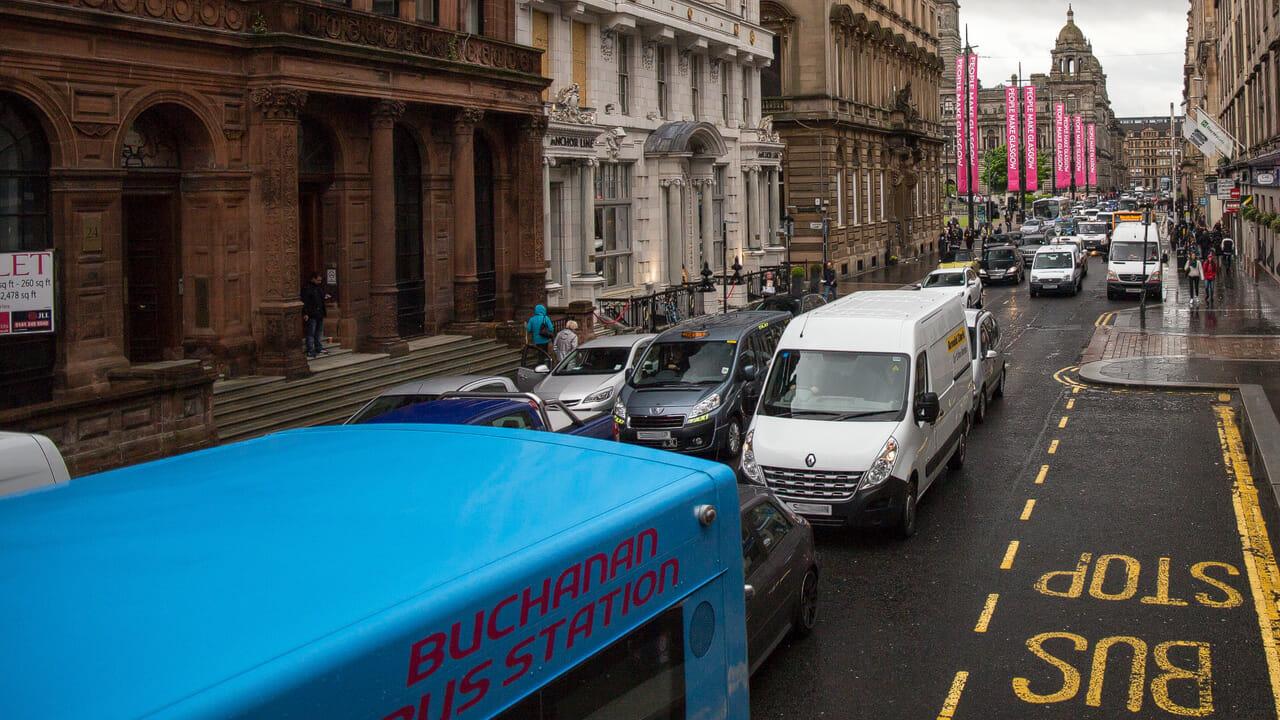 Verkehr in Glasgow