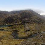 Loch Coruisk vom Berg