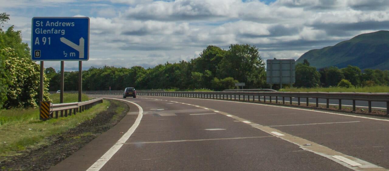 Motorway M90