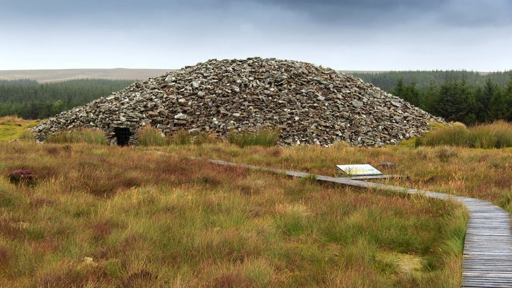 Camster grey Cairns - the round Cairn