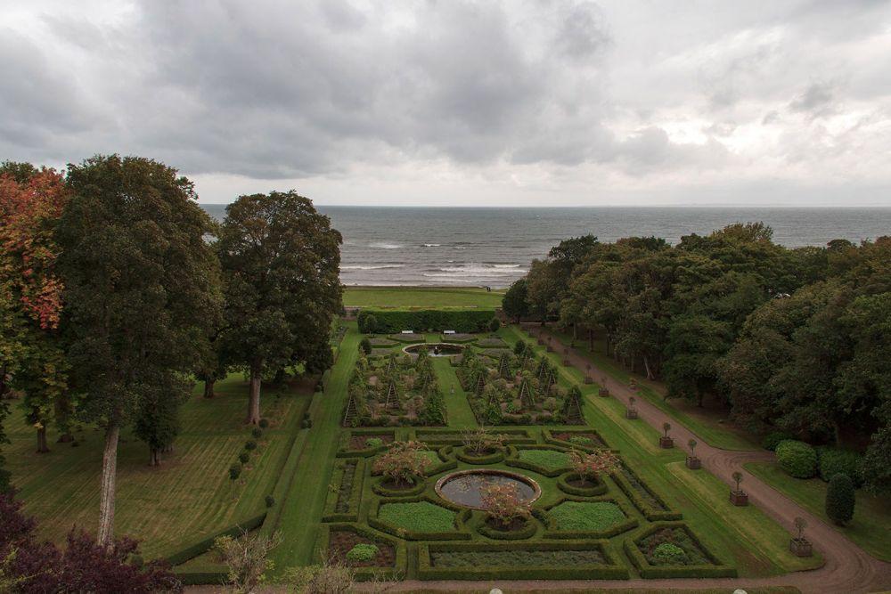 Dunrobin Castle Garten