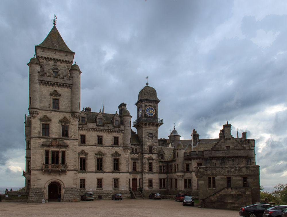 Dunrobin Castle Eingang