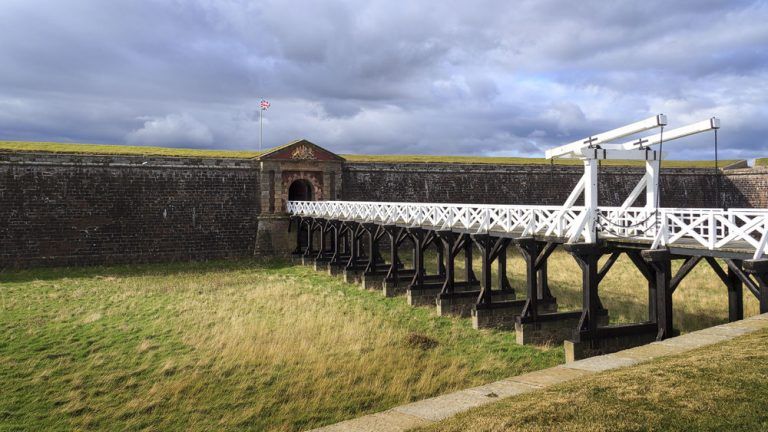 Fort George Zugbrücke