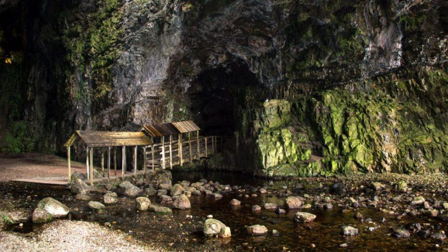 Smoo Cave Steg