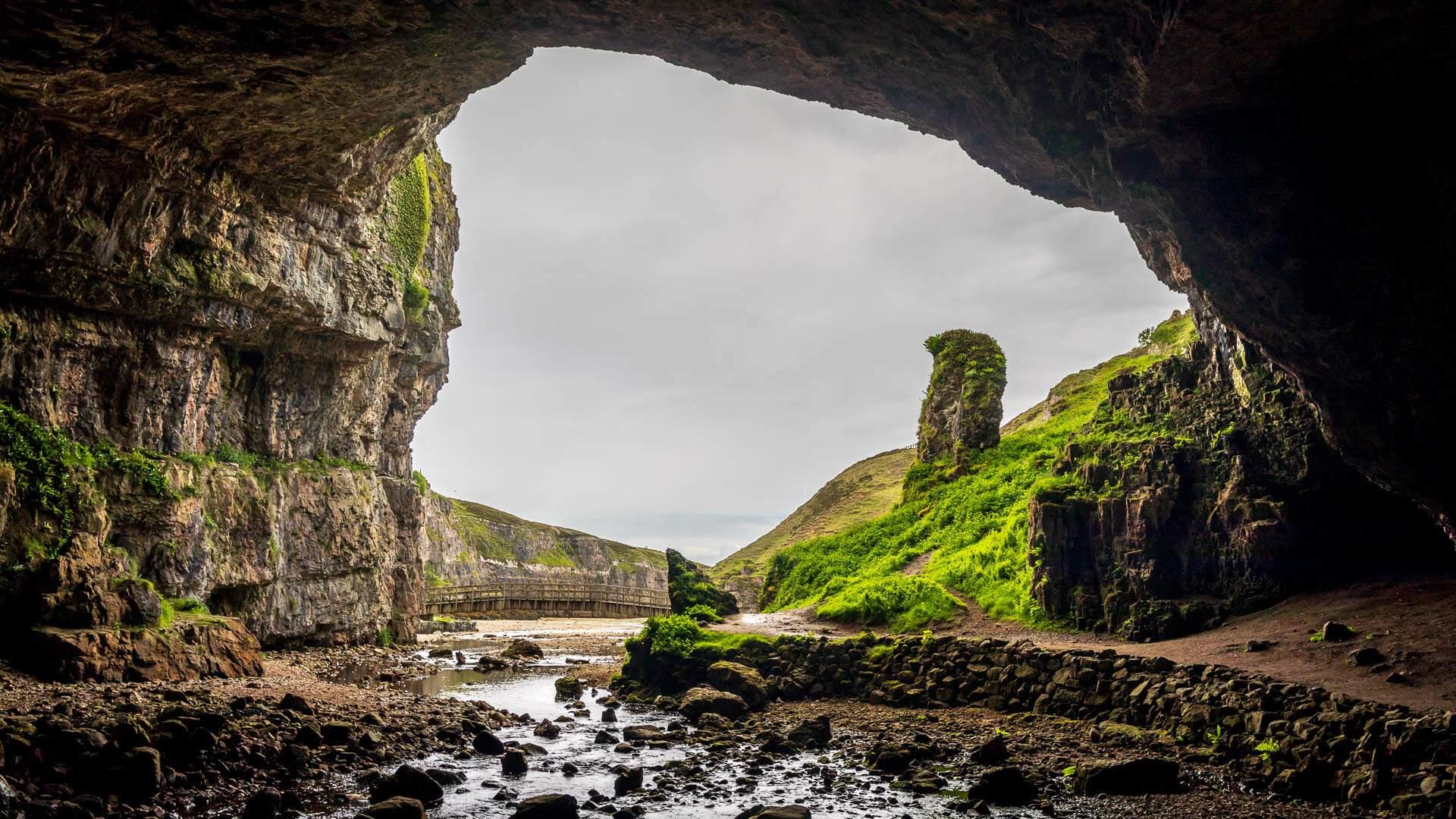 Smoo Cave Höhle - große Kammer