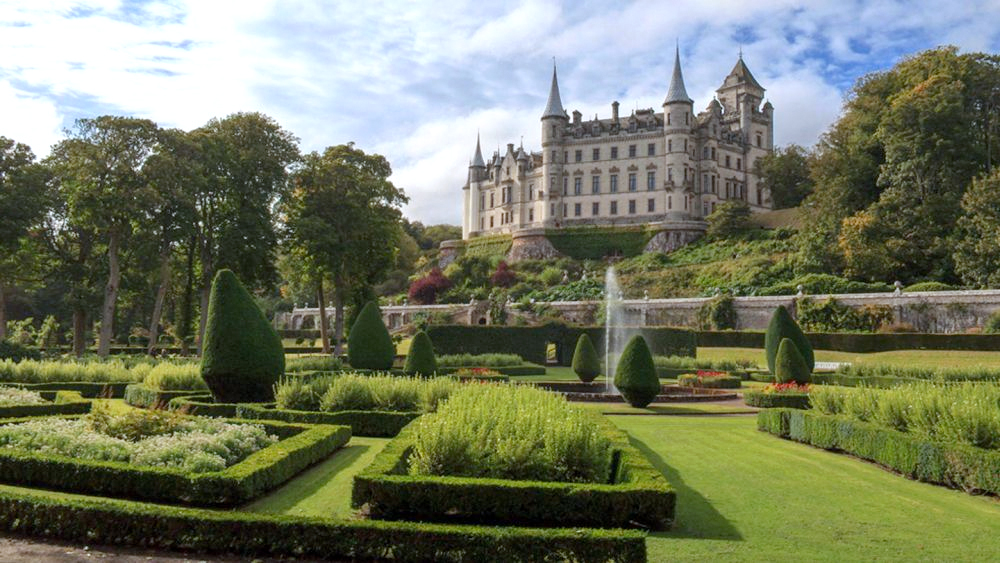 Dunrobin Castle - Sutherlands Märchenschloss