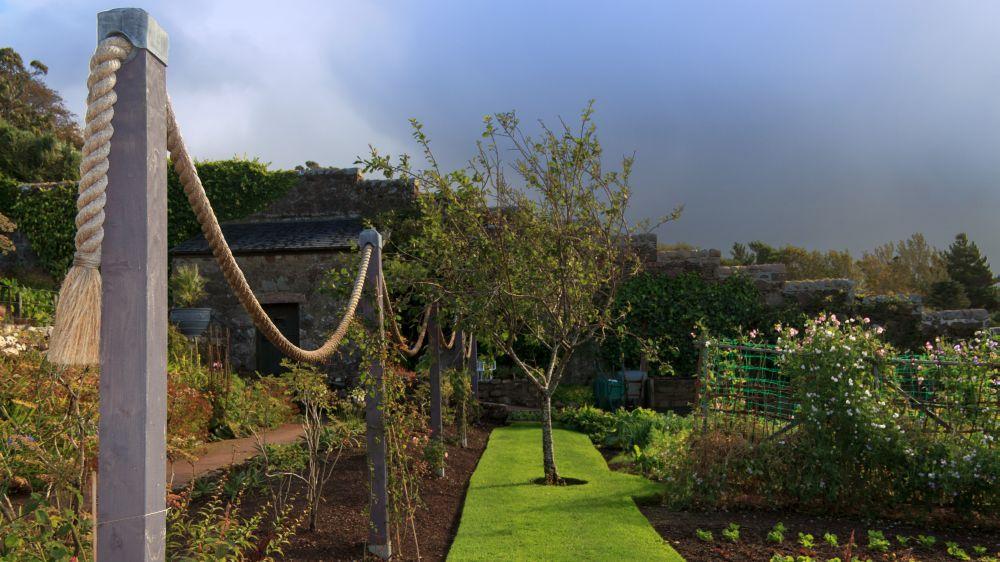 Gartenanlage im Walled Garden von Inverewe