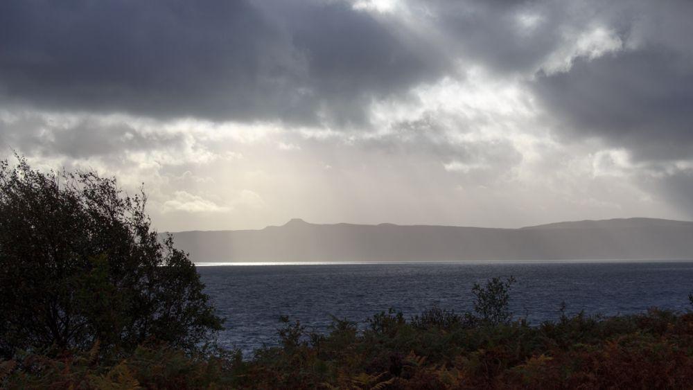 Aussicht auf die Insel Raasay