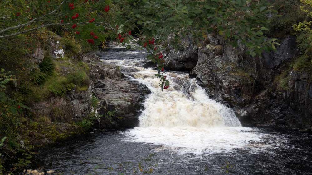Falls of Shin unterer Wasserfall