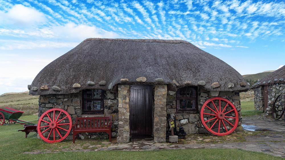 Blackhouse auf Skye