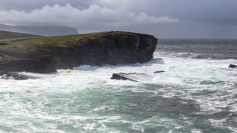 Cliffs of Yesnaby auf Orkney
