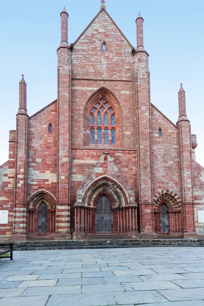 St Magnus Kathedrale Front