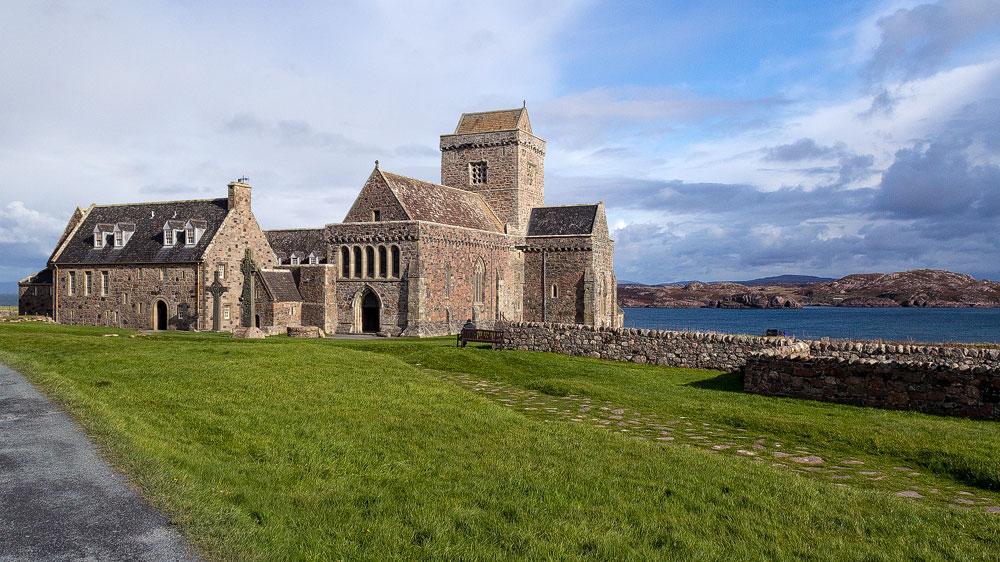 Iona Abbey von vorne