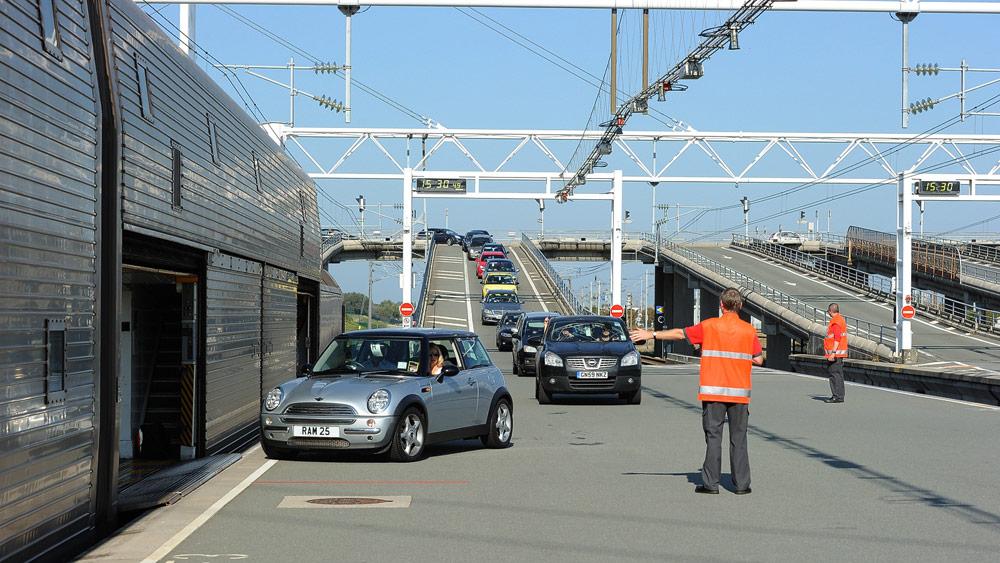 Autozug Eurotunnel © Eurotunnel