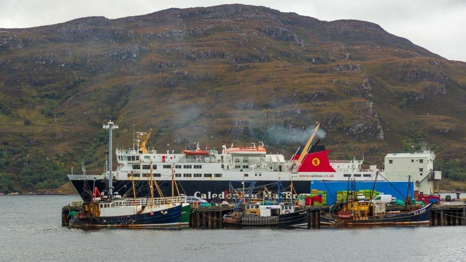 Die MV Isle of Lewis in Ullapool