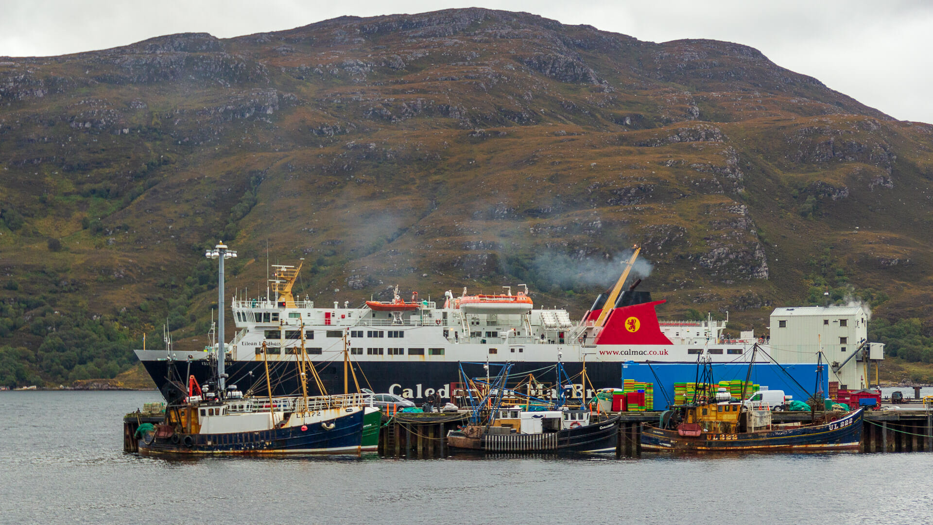 Die MV Isle of Lewis in Ullapool