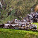 Dudelsackspieler in Urquhart Castle