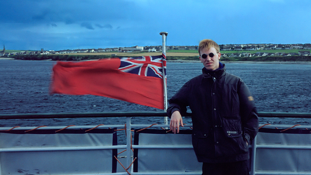 Auf der Orkney-Fähre