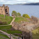 Urquhart Castle innen
