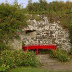 Cawdor Castle Bank im Garten