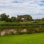 Cawdor Castle ummauerter Garten