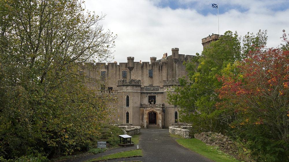 Dunvegan Castle Eingang